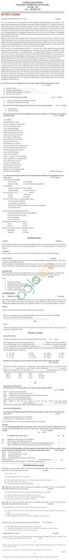 CBSE Sample Papers for Class 9 SA2 2014   English Communicative