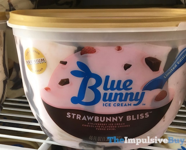 Blue Bunny Limited Edition Strawbunny Bliss Ice Cream