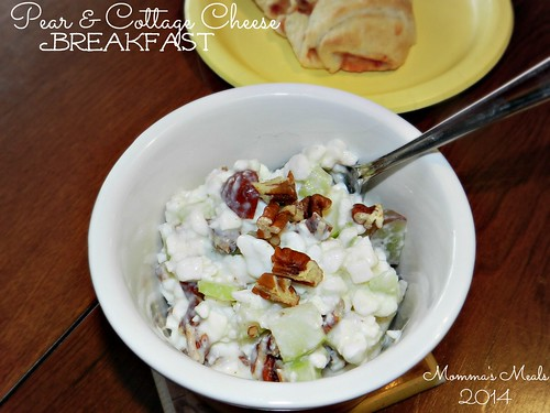 Pear & Cottage Cheese Breakfast (1)