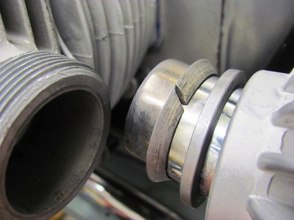 Orientation of Exhaust Header Seal Rings