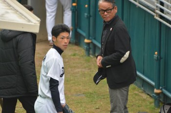 又吉選手と橋本清さん