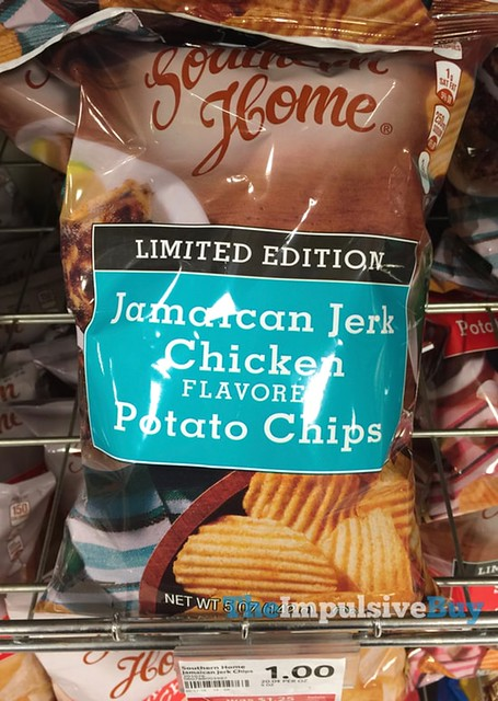 Southern Home Limited Edition Jamaican Jerk Chicken Potato Chips