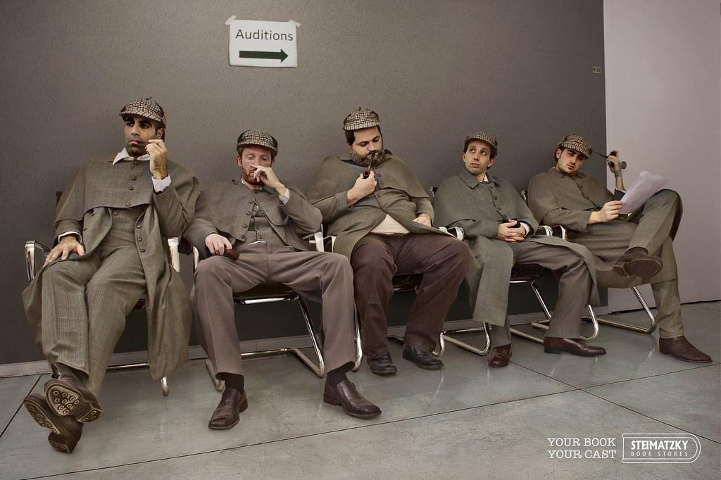 Steimatzky - Sherlock Holmes