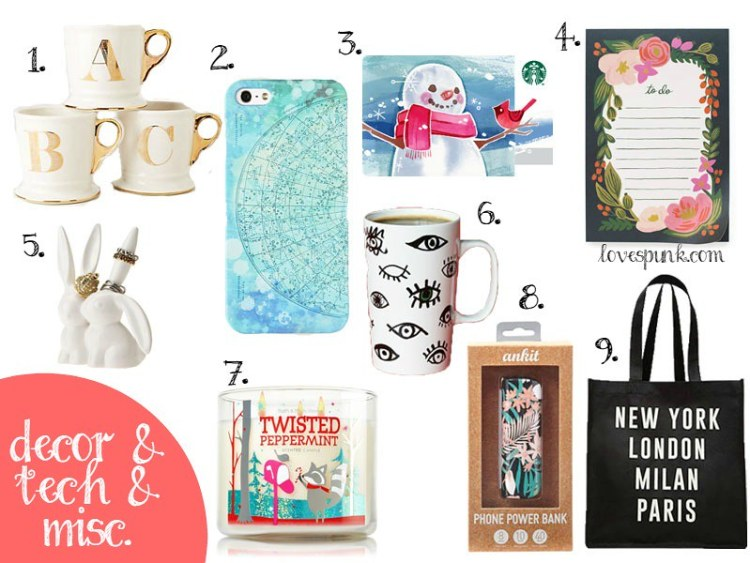 Holiday Gift Guide: Decor and Tech Gifts Under $25!