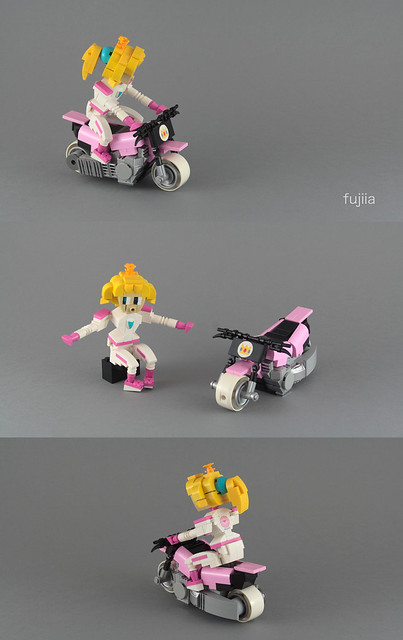 Mario Kart - Peach - alternate views
