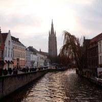 Un día en Brujas, Bélgica