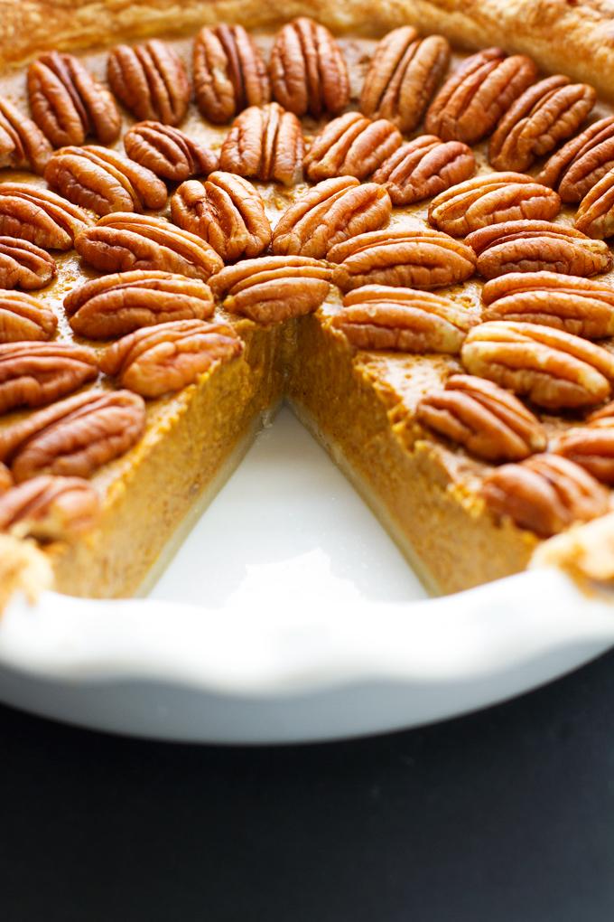 The Best Pecan Pumpkin Pie Recipe | Little Spice Jar
