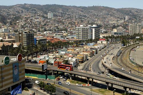 Valparaíso - Mirador Portales - Cerro Barón