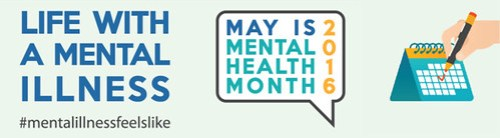 May is Mental illness awareness month