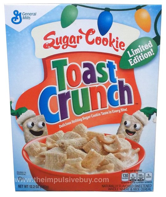 Limited Edition Sugar Cookie Toast Crunch Cereal