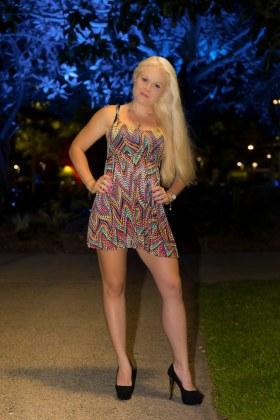 Forever Dress - Rainbow Shimmer 2