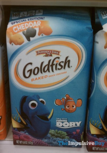 Pepperidge Farm Finding Dory Special Edition Cheddar Goldfish