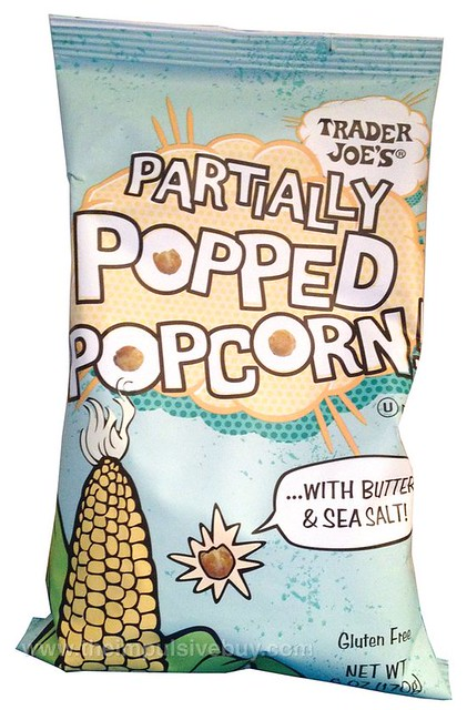 Trader Joe's Partially Popped Popcorn with Butter & Sea Salt