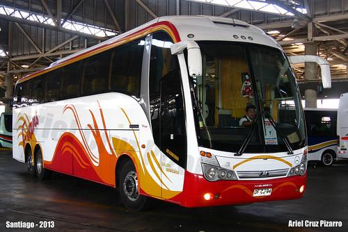 Buses Evans - Santiago (Chile) - Maxibus Lince 3.65 / Mercedes Benz (DFCJ94)