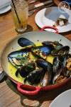 Wood Fired Mussels, from Pei Modern in the Rocks