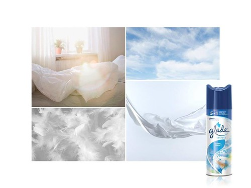Clean Linen Scent Glade// STIMULATE YOUR SENSES WITH THE GLADE SENSORY EXPERIENCE