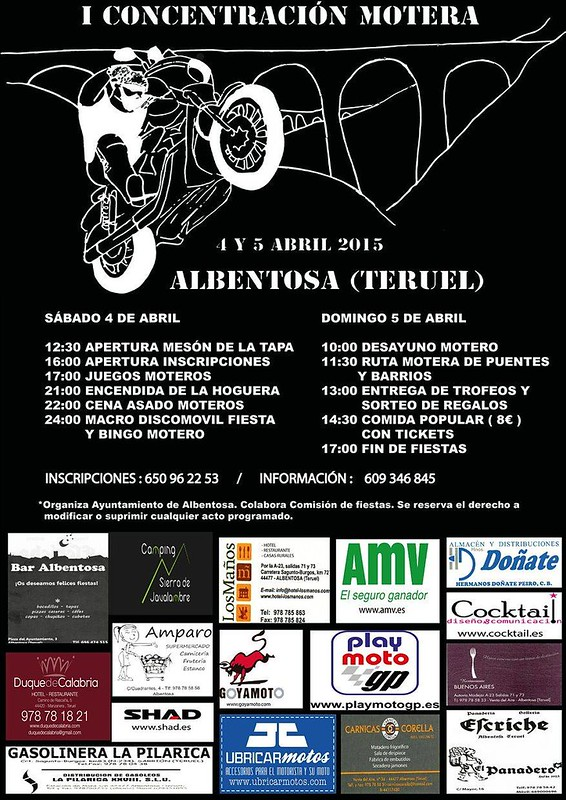 I Concentración Motera Albentosa (Teruel)