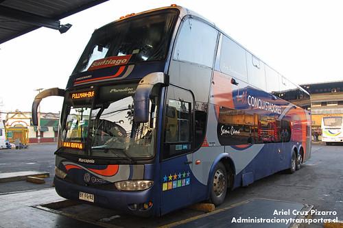 Los Conquistadores del Sur (Pullman Bus) - Santiago - Marcopolo Paradiso 1800 DD / Scania (BYFG82)