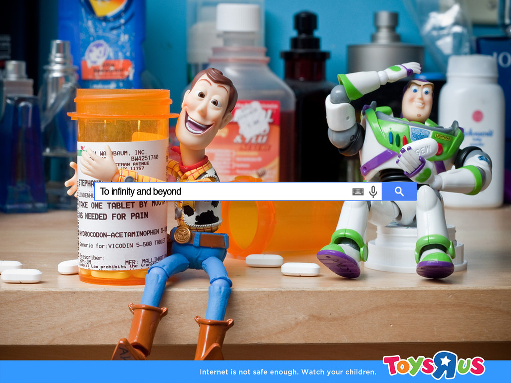 Toy's R us Internet - Internet is not safe enough Toy Story
