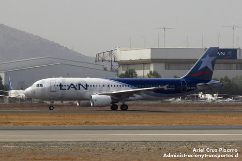 LAN Airlines - SCL - Airbus A320 CC-BFH
