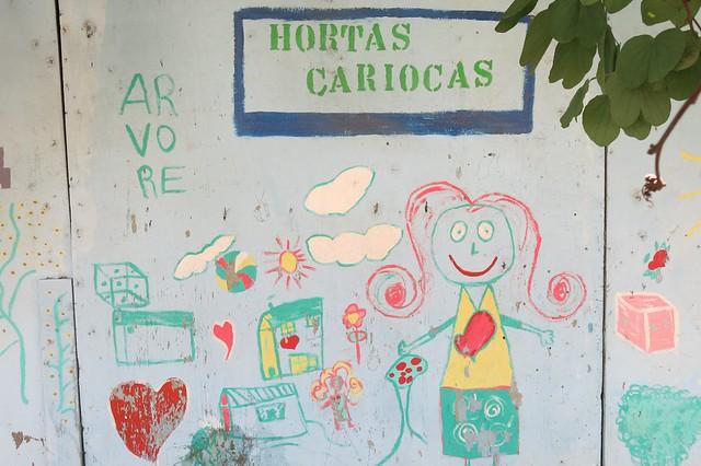 Hortas Cariocas project at Favela Rio das Pedras