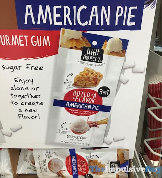 Project 7 Bulid A Flavor American Pie Gourmet Gum