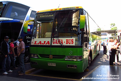 Gama Bus - Santiago - Busscar El Buss 340 / Mercedes Benz (RB3091)