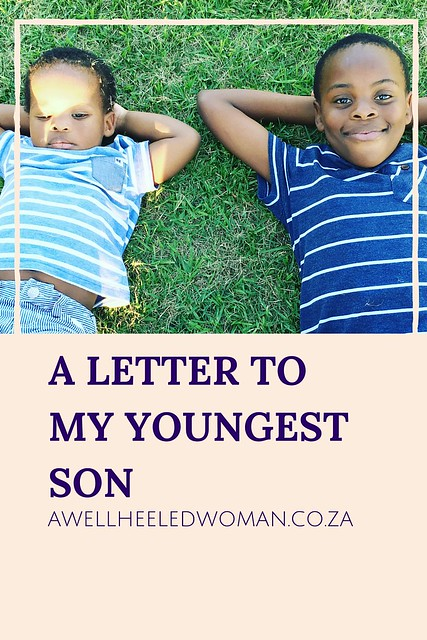 A letter to my youngest son , TheSpare