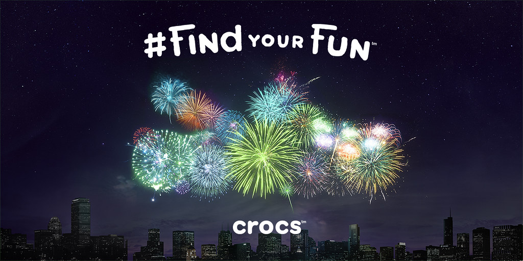Crocs - Find Your Fun Fireworks