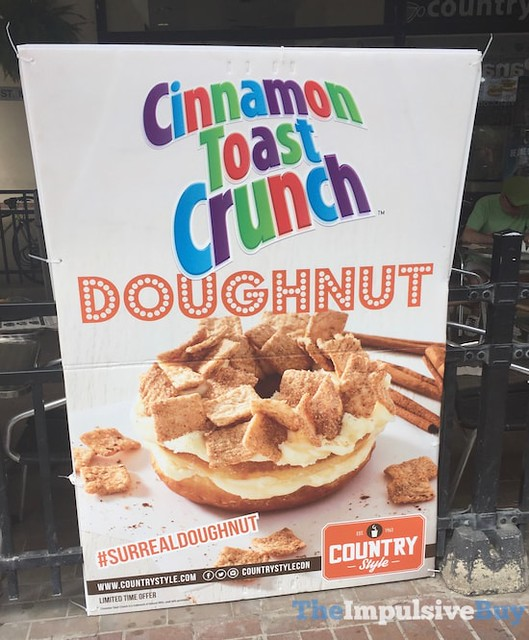 Country Style Cinnamon Toast Crunch Doughnut