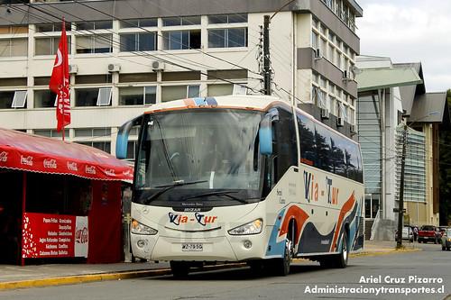 Via Tur - Valdivia - Irizar Century / Mercedes Benz (WZ7950)