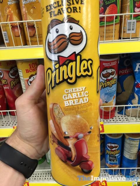 Exclusive Flavor Pringles Cheesy Garlic Bread