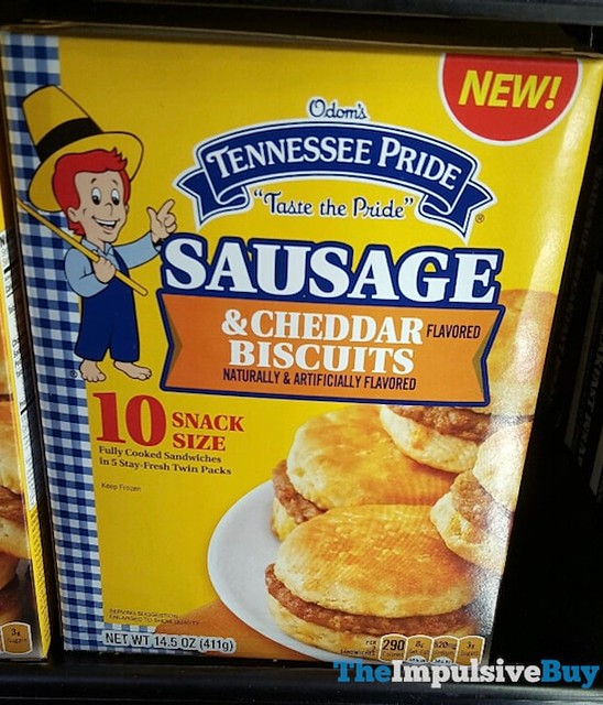 Odom's Tennessee Pride Sausage & Cheddar Biscuits