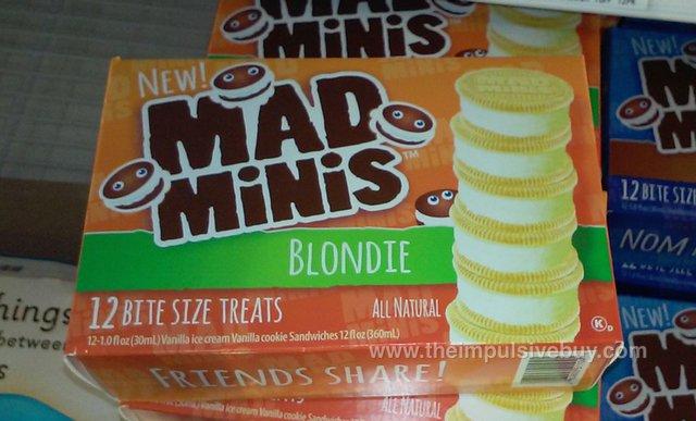 Mad Minis Ice Cream Cookie Sandwiches (Blondie)