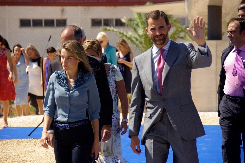 Imagen gratis de los Reyes de España: Felipe VI y Leticia Ortiz