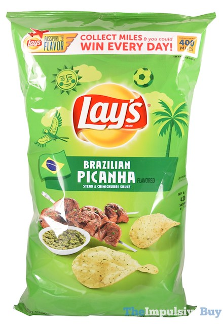 Lay's Brazilian Picanha Potato Chips