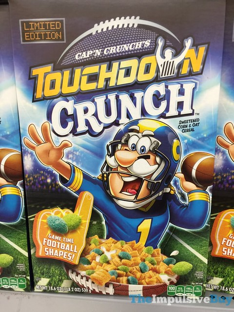 Limited Edition Cap'n Crunch's Touchdown Crunch