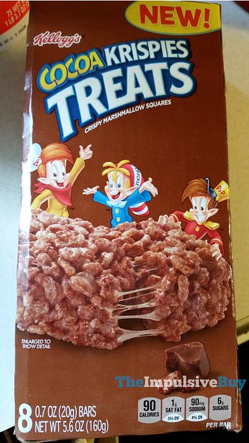 Kellogg's Cocoa Krispies Treats