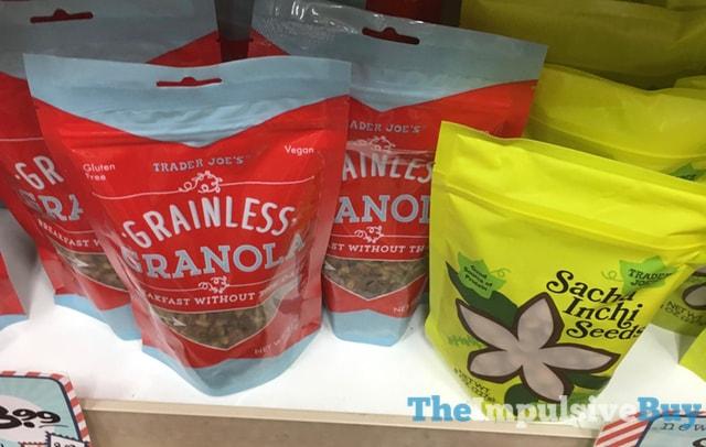 Trader Joe's Grainless Granola and Sacha Inchi Seeds