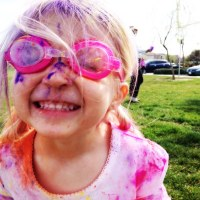 a colorful 3rd birthday: the inaugural birthday color run