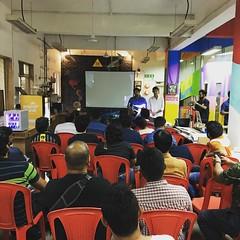 @redbull soapbox race workshop in full swing!