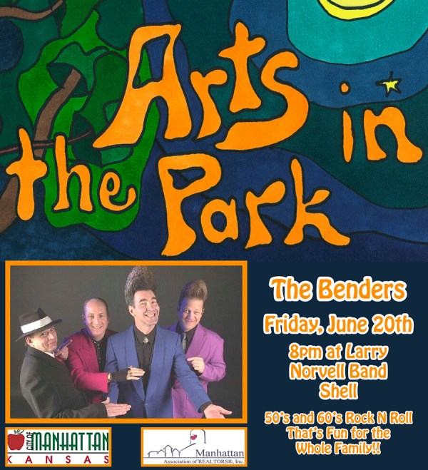 the benders live music arts in the park