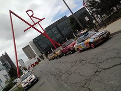 "2012 Hot Times Post Parade CCAD Art Sculpture Photo Op <a style=""margin-left:10px; font-size:0.8em;"" href=""http://www.flickr.com/photos/58419032@N00/7961998956/"" target=""_blank"">@flickr</a>"