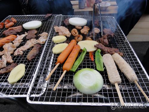 Japanese barbeque 日本のバーベキュー