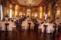 Wedding Reception in Gold