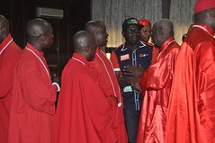 """Mr Godwin Obaseki, APC governorship candidate in Edo State and some Chief Priests during the endorsement of the APC guber candidate by Chief Priests in Edo State, Tuesday. • <a style=""""font-size:0.8em;"""" href=""""http://www.flickr.com/photos/139025336@N06/29756743062/"""" target=""""_blank"""">View on Flickr</a>"""