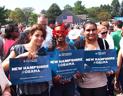 Youthful Obama Supporters