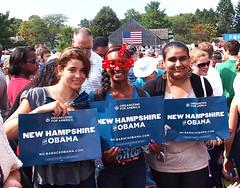 Youthful Obama Supporters