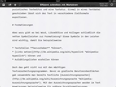 """iA Writer (iPad) • <a style=""""font-size:0.8em;"""" href=""""http://www.flickr.com/photos/22392081@N00/8600310663/"""" target=""""_blank"""">View on Flickr</a>"""