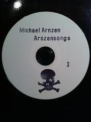 """Behind the Fridge: Sample """"Arnzensongs"""" CD"""